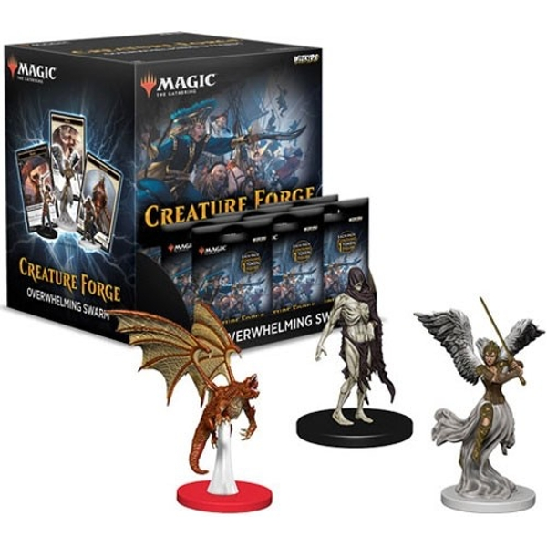 Magic the Gathering Creature Forge Overwhelming Swarm Gravity Feed (24 Packs)