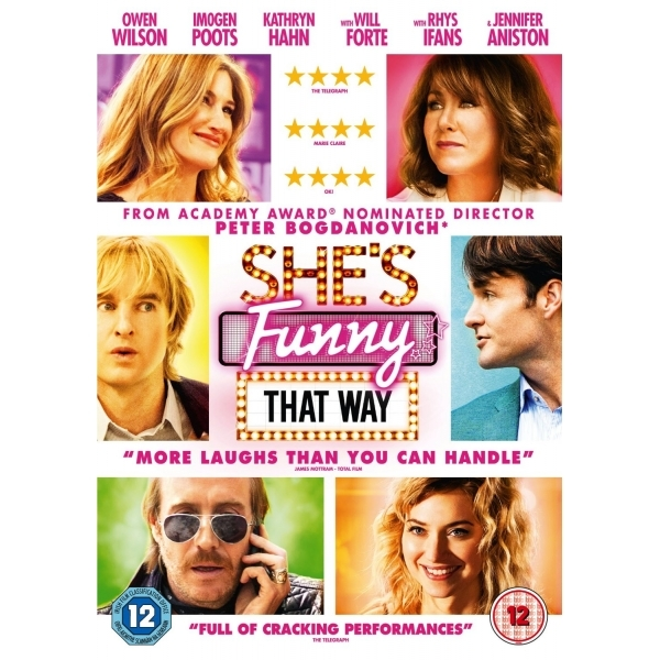 She's Funny That Way DVD