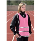 Precision Running Reflective Vest Fluo Pink