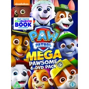 Paw Patrol Megapawesome 6 Disk Pack DVD