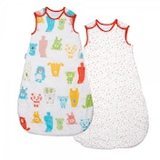 Grobag Day & Night Spotty Bear 0-6 Months