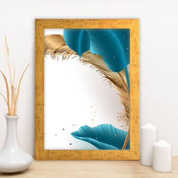 AC139479835724 Multicolor Decorative Framed MDF Painting