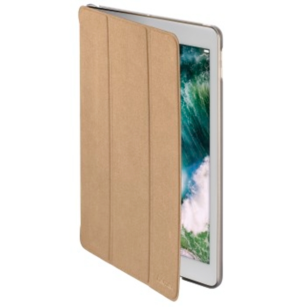 """Hama """"Suede Style"""" Tablet Case for Apple iPad 9.7 (2017/2018), beige"""