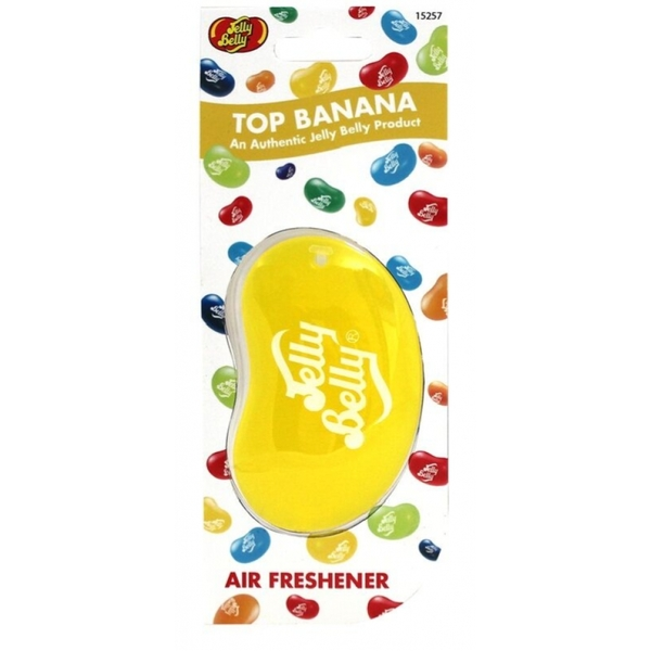 Jelly Belly Top Banana 3D Car/Home Air Freshener