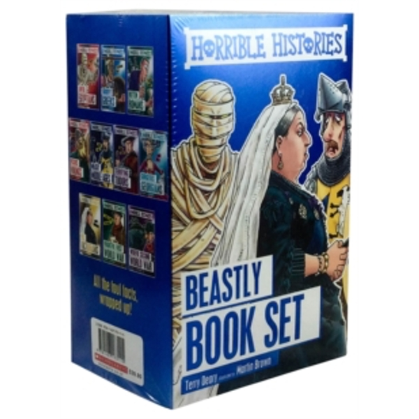 Horrible Histories Foiled Classic Editions Paperback