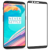 OnePlus 5T Tempered Glass Screen Protector Black Edge (Single Pack)