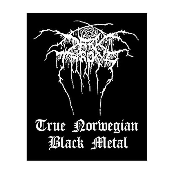 Darkthrone - Black Metal Standard Patch