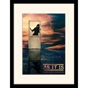 As It Is - Never Happy Ever After Mounted & Framed 30 x 40cm Print