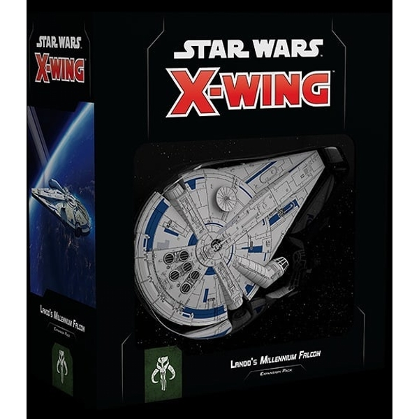 Star Wars X-Wing: Lando's Millennium Falcon Expansion Pack Board Game