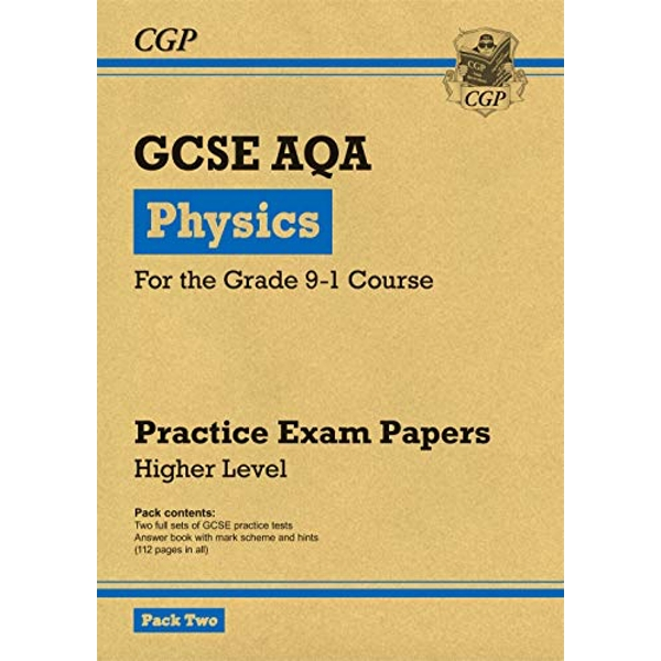 New Grade 9-1 GCSE Physics AQA Practice Papers: Higher Pack 2 by CGP Books (Paperback, 2017)
