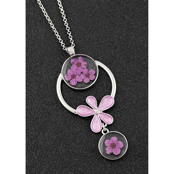 Eternal Flowers Modern Necklace