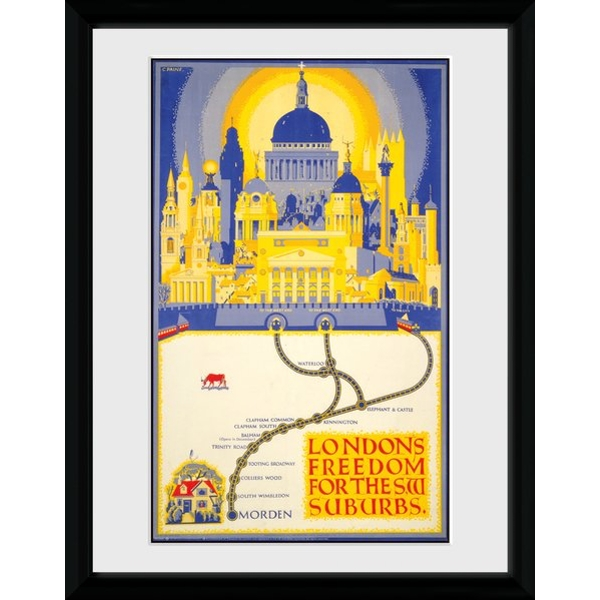 Transport For London London's Freedom Framed Collector Print