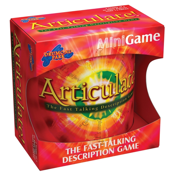Articulate Mini Board Game