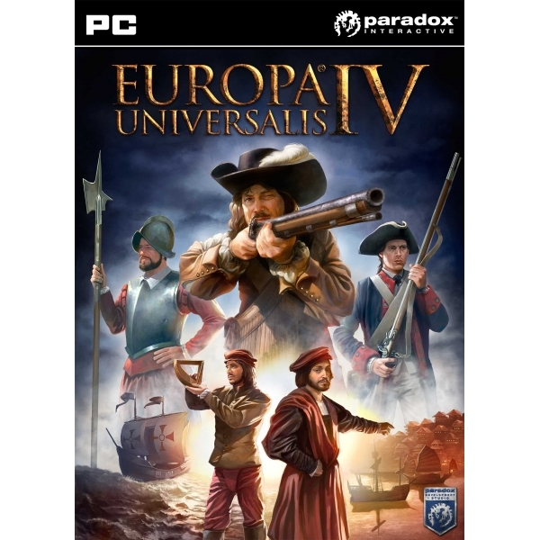 Europa Universalis IV (Four) with 100 Years War DLC Game PC