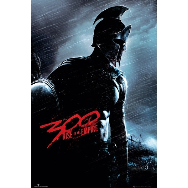 300 Rise of an Empire Blue Soldier Maxi Poster