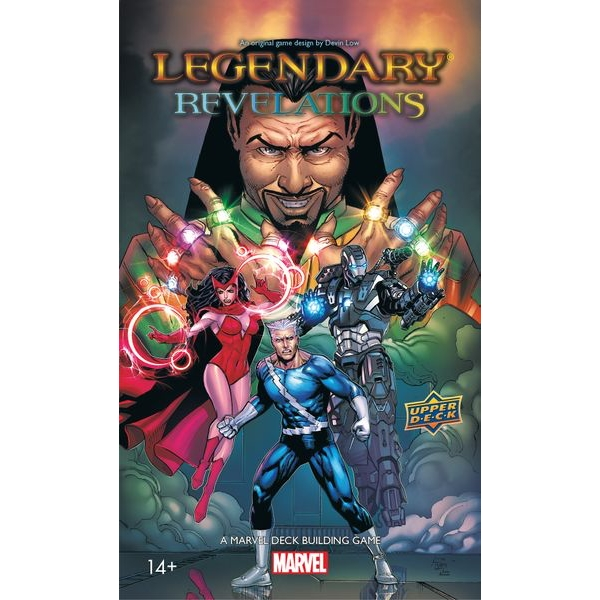 Legendary: A Marvel Deck Building Game – Revelations Expansion