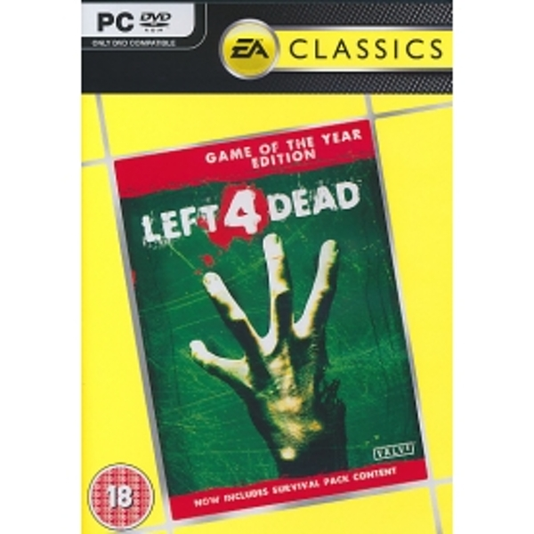 Left 4 Dead Game Of The Year Edition (EA Classics) Game PC