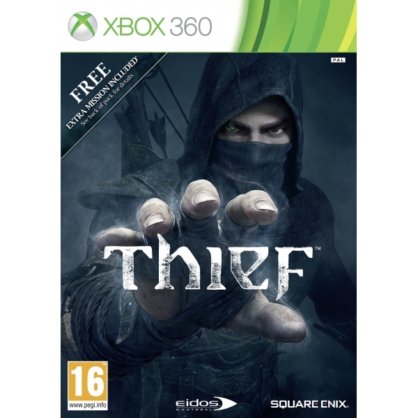 Thief Game with pre-order Bank Heist DLC Xbox 360