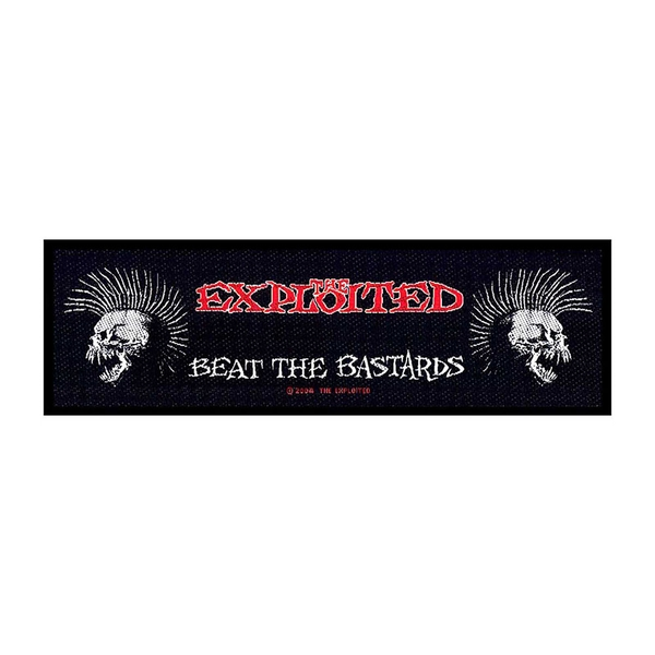 The Exploited - Beat the Bastards Super Strip Patch