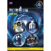 Doctor Who Badge Pack 2