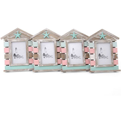 Box of 4 Large Pink And Green Frames
