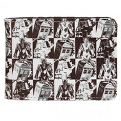 Doctor Who Comic Book Strip Design Bi-fold Wallet