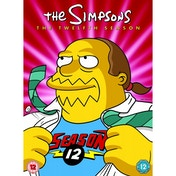 The Simpsons Season 12 Complete DVD