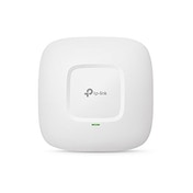 TP-LINK (CAP1750) AC1750 (1300 1750) Wireless Dual Band Gigabit Ceiling Mount Access Point, Enterprise Class Security