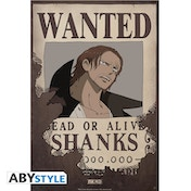 One Piece - Wanted Shanks Small Poster