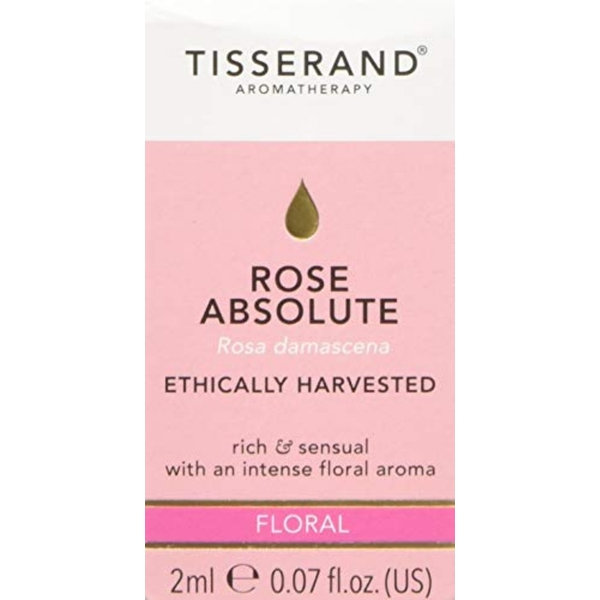 Tisserand Aromatherapy Rose Absolute Ethically Harvested Essential Oil 2ml