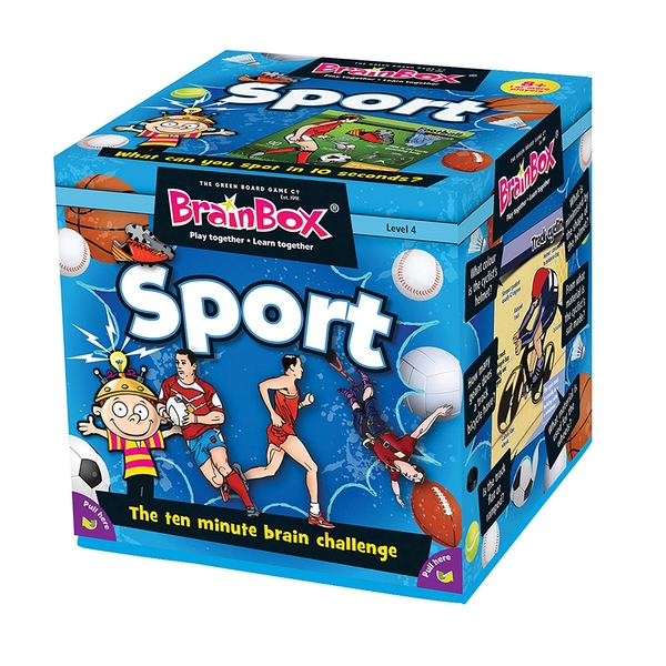 BrainBox Sport Card Game
