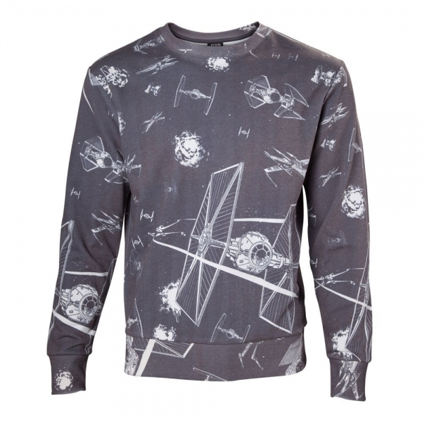 Star Wars Imperial Fleet TIE Fighters All-Over Print Sublimation Small Sweater