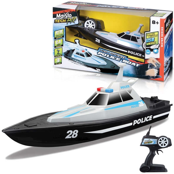 Police Boat Radio Controlled Toy