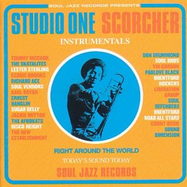 Various Artists - Studio One Scorcher Instrumentals Vinyl