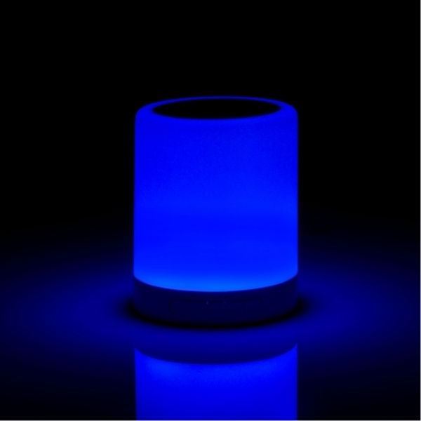 Wireless Speaker With Colour Changing Touch Lamp UK Plug - Image 6