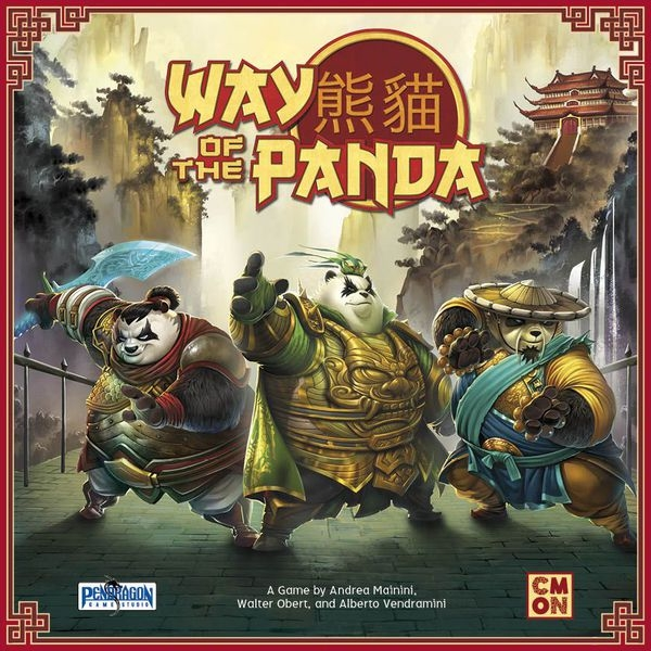 Way of the Panda Board Game