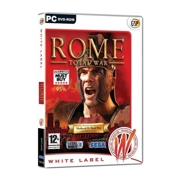 Rome Total War Game (White Label) PC