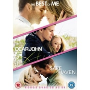 Nicholas Sparks Triple: Dear John/Safe Haven/The Best of Me DVD