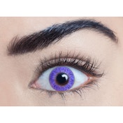 Pure Violet 1 Day Coloured Contact Lenses (MesmerEyez Blendz)