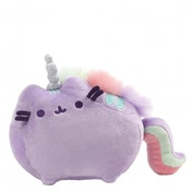 Pusheenicorn Sound Soft Toy Purple