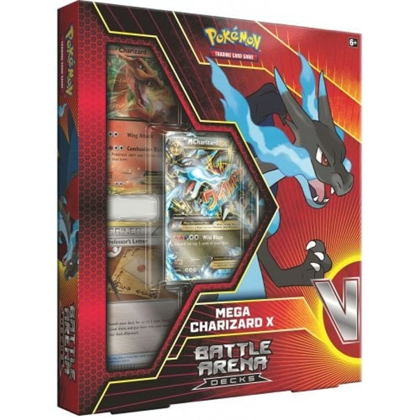 Pokemon TCG: Battle Arena Decks- Mega Charizard X or Mega Blastoise (1 at Random)
