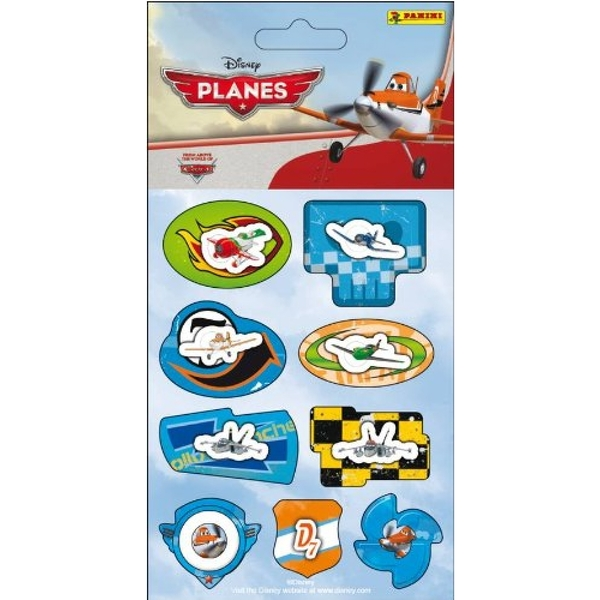 Disney Planes - Panini - Pack of 9 3D Stickers