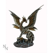 Iron Wing Dragon Figurine