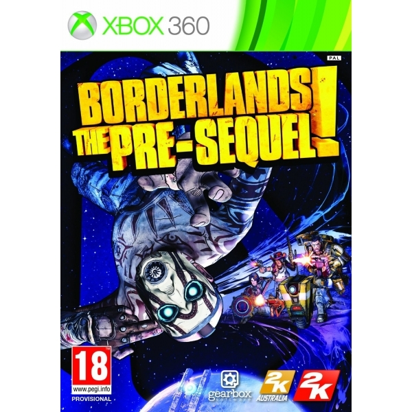 Borderlands The Pre-Sequel! Xbox 360 Game - Image 1