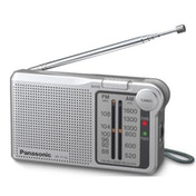 Panasonic RFP150DEG-S Portable AM/FM Radio Silver
