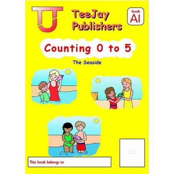 TeeJay Level A Maths: Bk.1: Counting 0-5 by James Geddes, Tom Strang (Paperback, 2008)