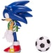 Sonic With Soccer Ball (Sonic The Hedgehog) 4 Inch Action Figure - Image 4