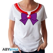 Sailor Moon - Sailor Mars * Women's Large T-Shirt - White