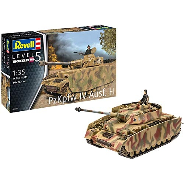 Panzer IV Ausf. H Revell Model Kit