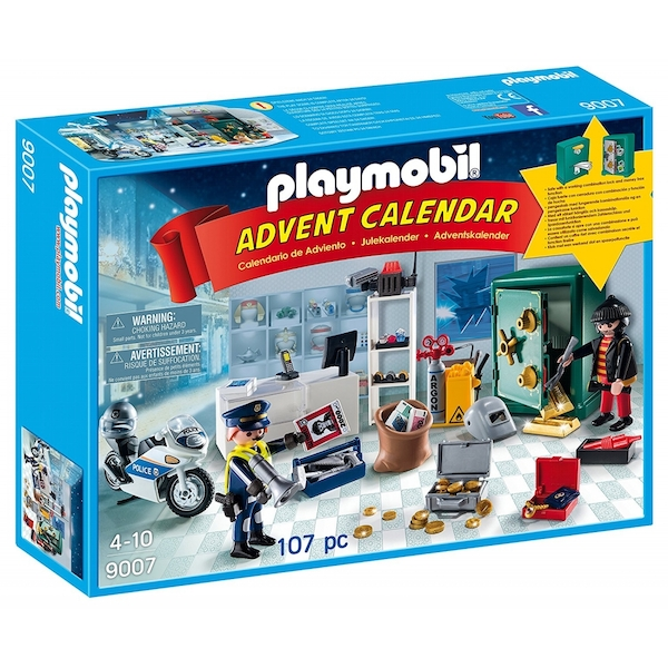 Playmobil Advent Calendar Jewel Thief Police Operation